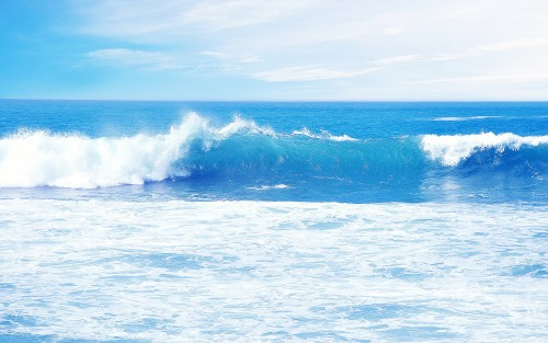 Blue-Ocean-Waves