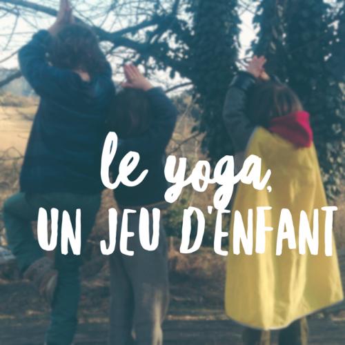yoga jeu enfant