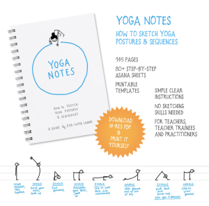 Yoganotes book
